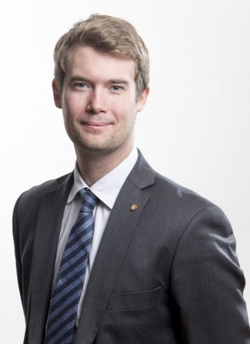 Byråd for sosial, bolig og inkludering, Erlend Andreas Horn (V)