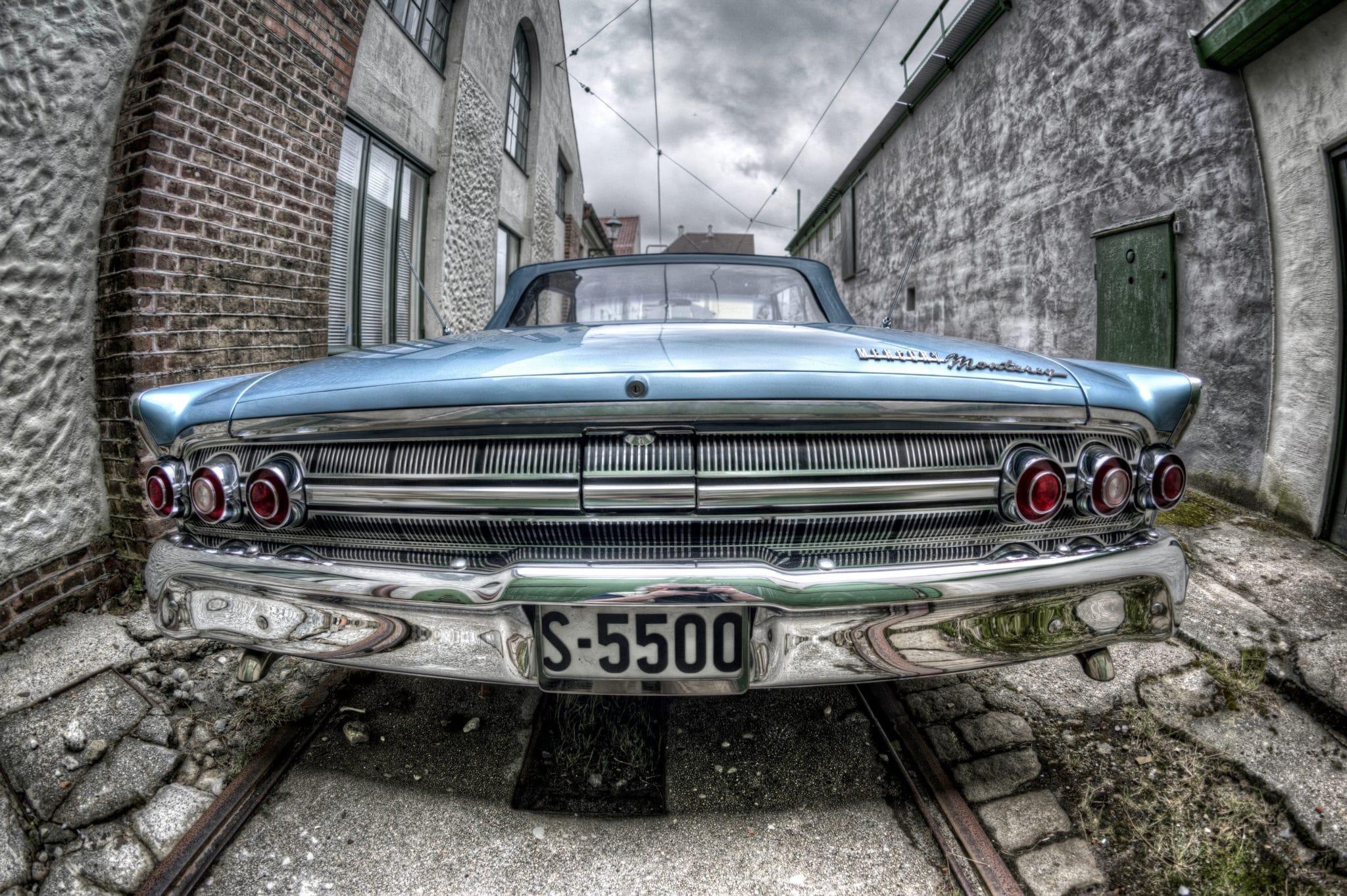 Gamle amerikanske biler til salg