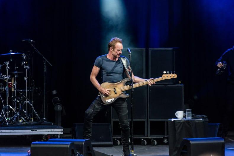 Sting i Bergen