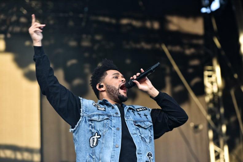 The Weeknd på Koengen