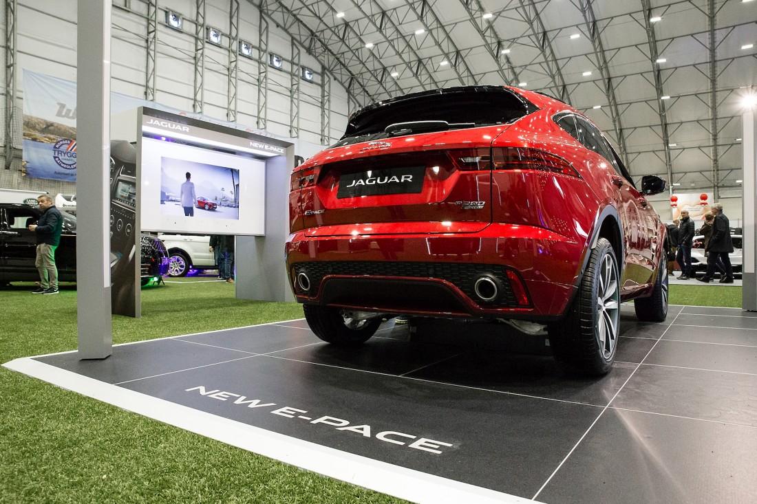 Jaguar E-PACE - Sandven