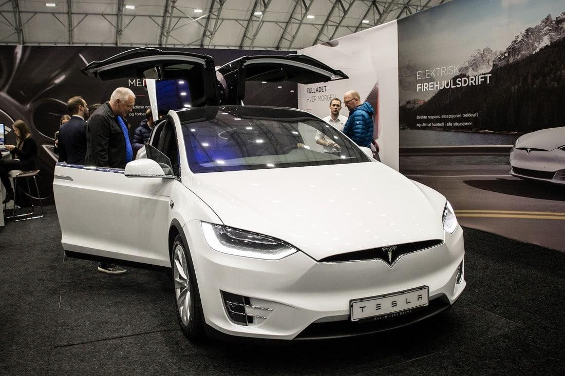 Tesla elektrisk firehjulsdrift