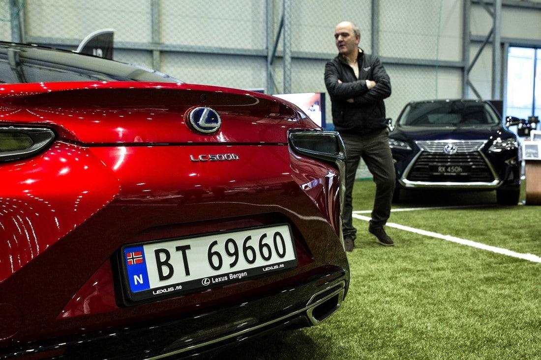 Lexus LC 500h og Lexus RX 450h