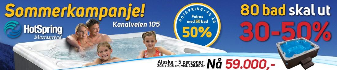 Hotspring 30 – 50%