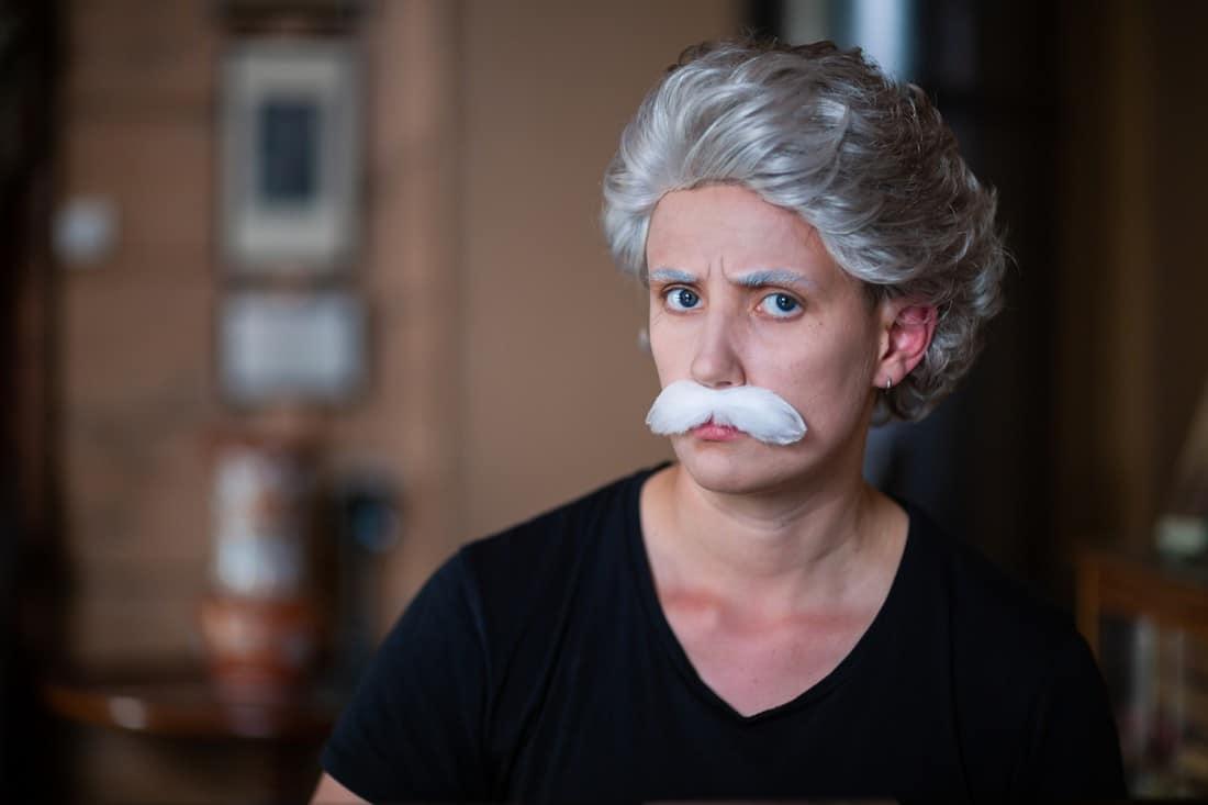 Josefin Winther blir Edvard Grieg