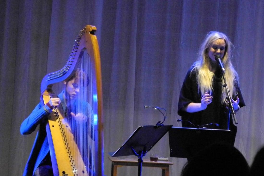 Susanna på Bergen Kjøtt (foto: Hagen Stockhausen)
