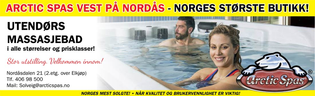 Arctic Spas Kampanje November