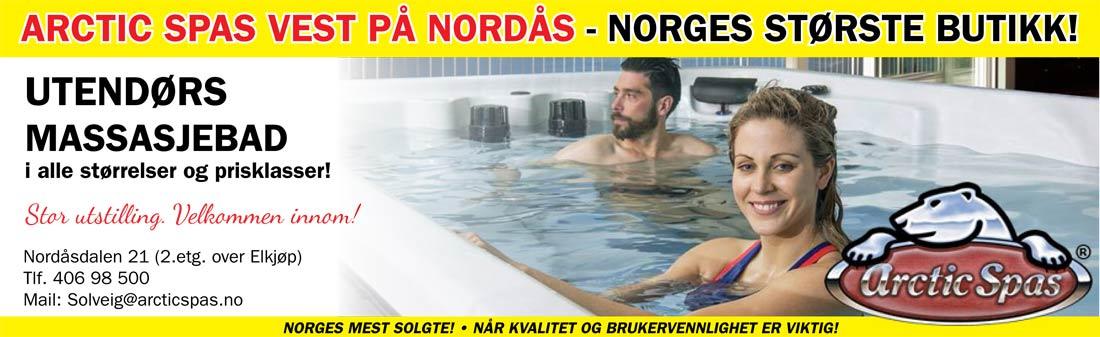 Arctic Spas Kampanje November