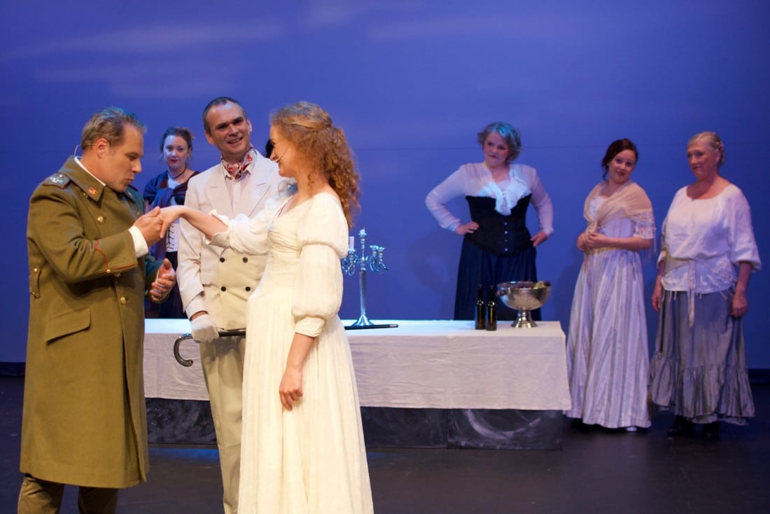 Bilder fra Andre Akts generalprøve på Tolvskillingsoperaen, søndag 9. juni 2019 (foto: Magne Fonn Hafskor)