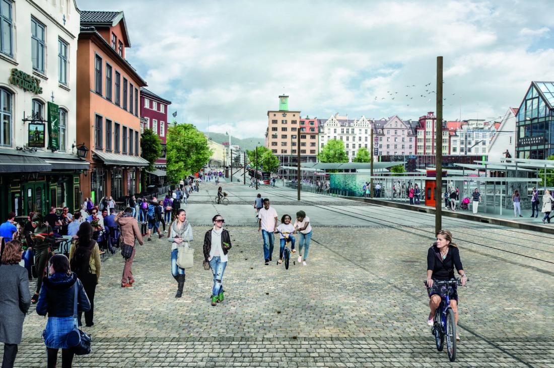 Illustrasjon: Prosjektmotto Havnen den gode