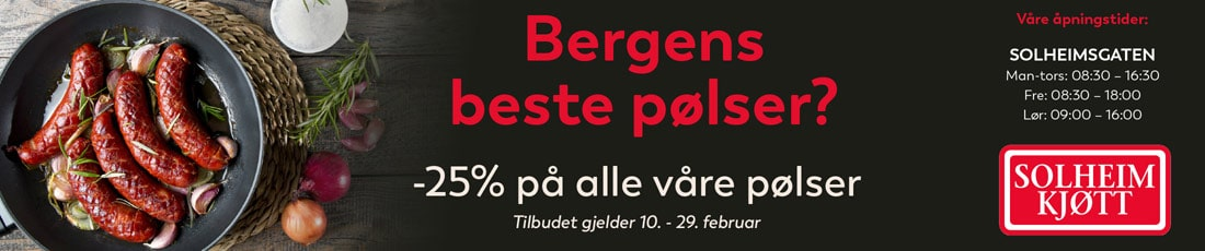 Solheim Kjøtt 25%